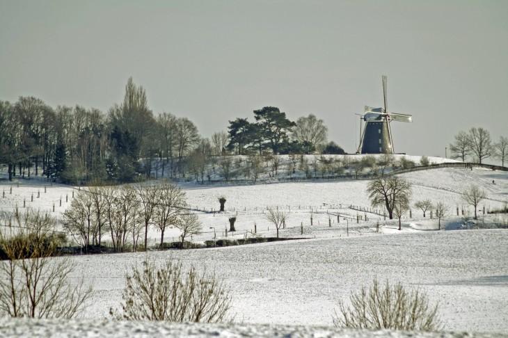 Colmont winterlandschap